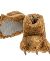 Brown Bear Paw Slippers - Kids & Adults - Lazy One® | Paw Slippers